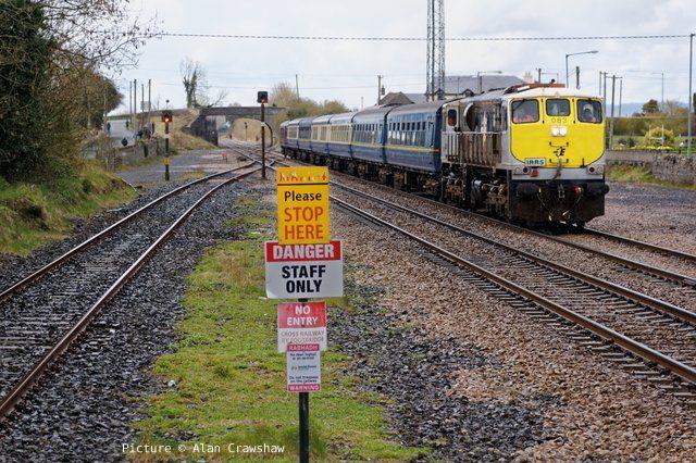 North Wales Coast Railway Notice Board 19 April 2016