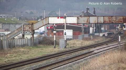 North Wales Coast Railway Notice Board 07 March 2011