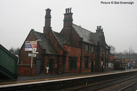 North Wales Coast Railway Notice Board 30 January 2012
