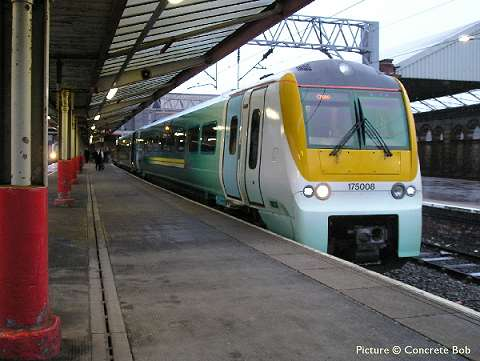 Picture of a Class 175 in Arriva Livery