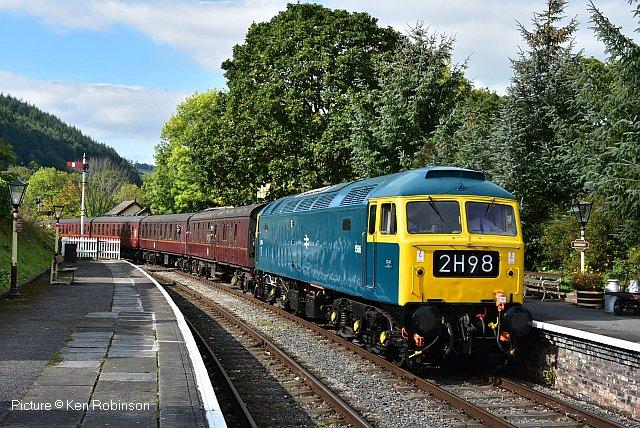 North Wales Coast Railway Notice Board 1 October 2018