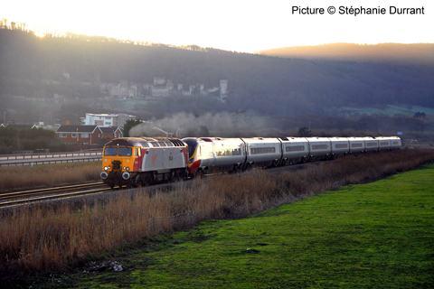 North Wales Coast Railway Notice Board 16 January 2012
